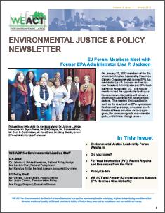 EJ and Policy Newsletter - Volume 2 Issue 1 (March 2013)